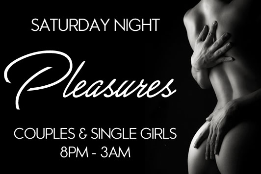 Saturday night at Pleasures